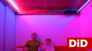 840. Gamingowe oświetlenie sufitowe LED w profilach aluminiowych Lumines