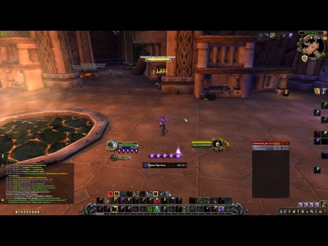 test TMW + Nugabar WOW BFA 8.1 demon warlock