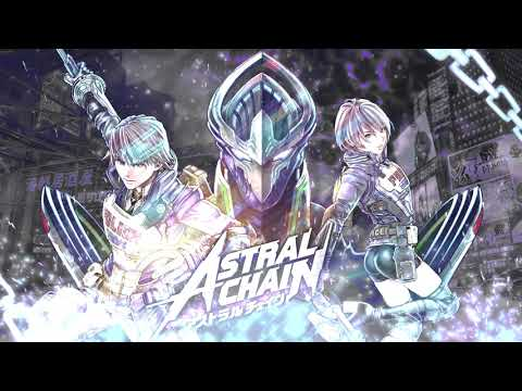 [Astral Chain] Dark Hero Male X Female Mix