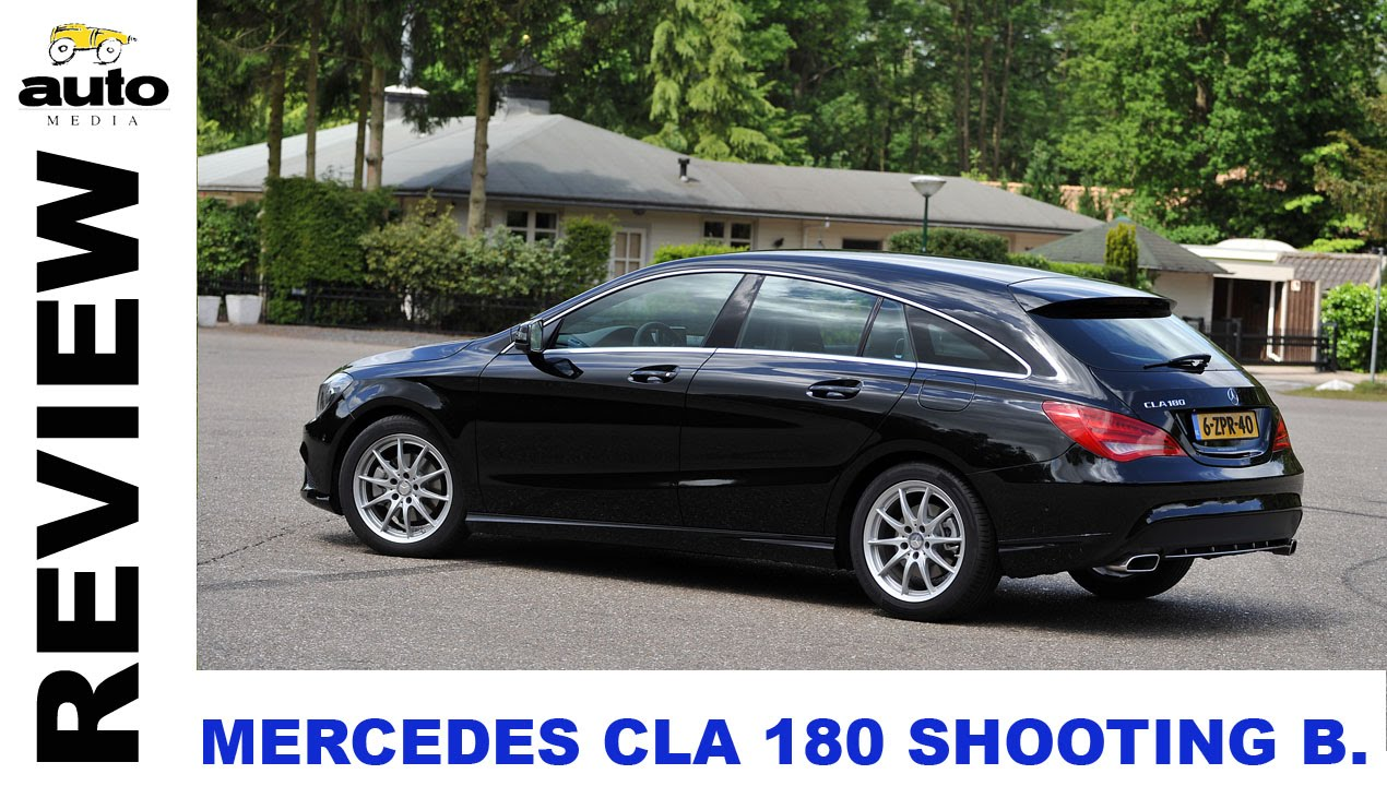 mercedes cla 180 shooting brake review 2015 youtube