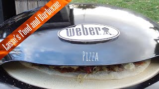 Weber Charcoal Pizza Oven - unboxing and first thoughts - and a pizza of course