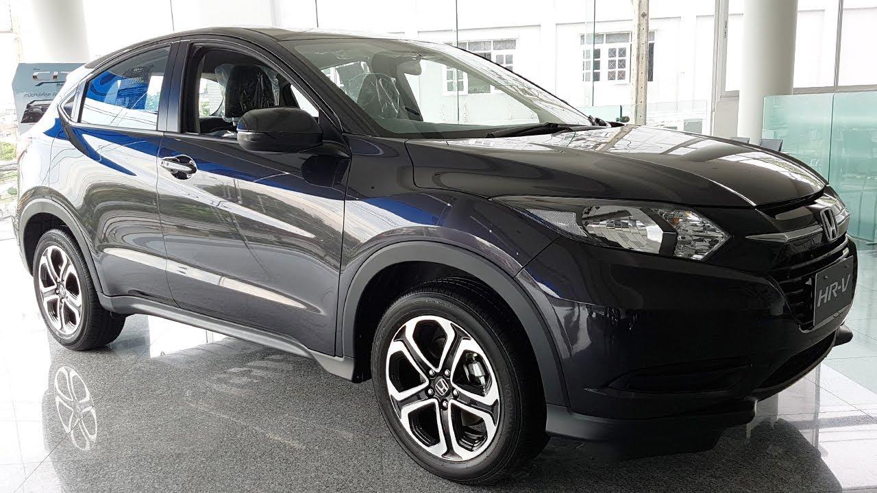 Honda HR V รุ่น 1.8 S Ruse Black Metallic ราคา 933,000 บาท ...