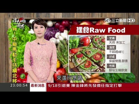 全球裸食(Raw Food)革命 飲食返樸歸真 消失的國界20160917全