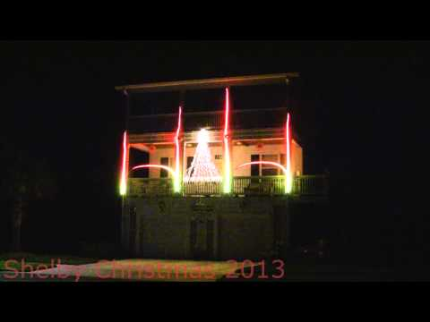 Wizards of Winter - Christmas Light Show -Key West, FL 2013