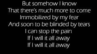 Evanescence- Whisper 2002 (Lyrics)