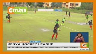 Wolverines maul Nakuru in the Women's hockey super league