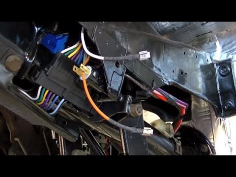 hqdefault part 15 c10 wiring repair universal wiring harness youtube 1985 chevy truck wiring harness at bayanpartner.co