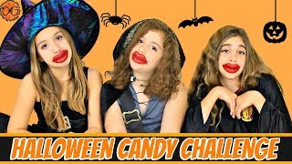 Halloween Candy Challenge - Hilarious!