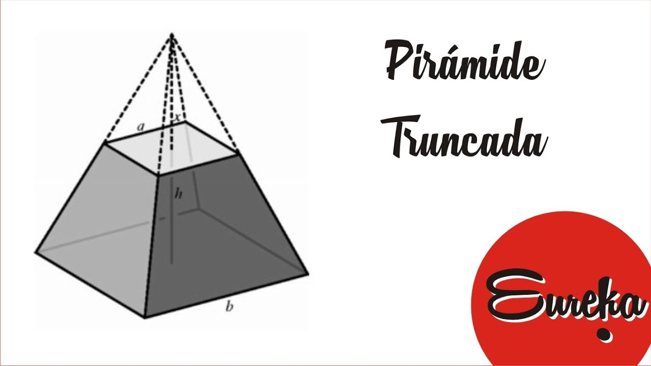 Piramide Base Cuadrada Tutorial De Dibujo Dibujar Una Pirámide Truncada Youtube
