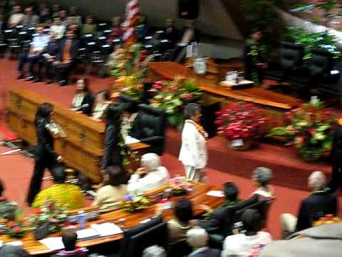 Act 221 Supporters, Opening Day Hawaii State Legislature, 2009