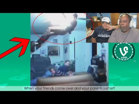 Dad Reacts to TRY NOT TO LAUGH OR GRIN While Watching Funny Kids Fails Vines Compilation 2016!