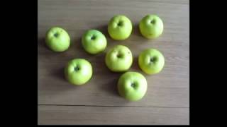 Learn numbers easy  with apples