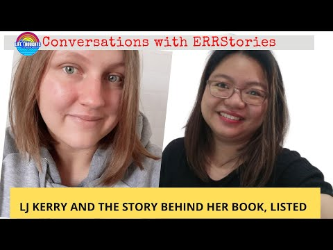 Conversations with ERRstories | Author LJ Kerry Talks about her Book Listed and Tips for Writers