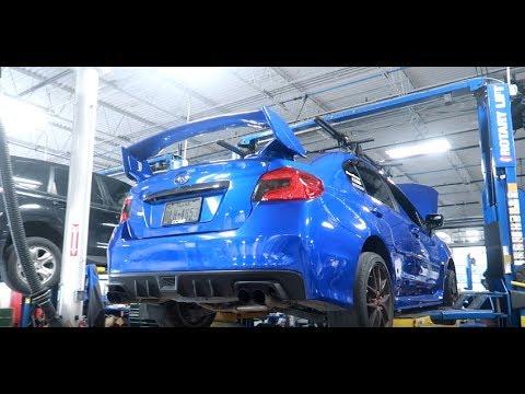 Working on Subarus!