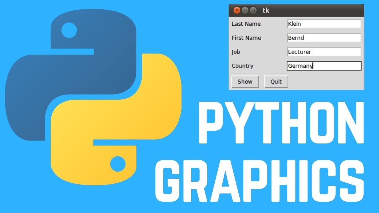 How to Create Basic Graphics using Python - Tkinter