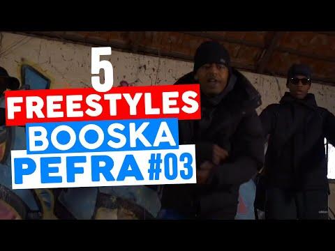 5 FREESTYLES 🎥 BOOSKA PEFRA 🎥 #03 | 4KEUS, TAKE A MIC, YL, WALID & TIMAL