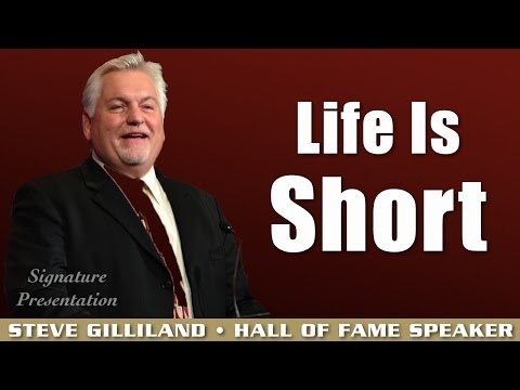 Steve Gilliland – Enjoy The Ride: Never Lose Your Focus