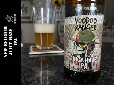 New Belgium Brewing Voodoo Ranger Juicy Haze IPA Beer Review
