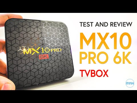 Mx10Pro 6K TvBox Review - Android 9, Under $40 - ANY GOOD?? (2019)