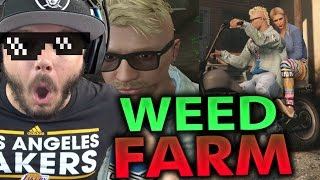 GTA 5 Online - MY WEED FARM!! FUNNY MOMENTS | Part 36 (GTA 5 ONLINE)