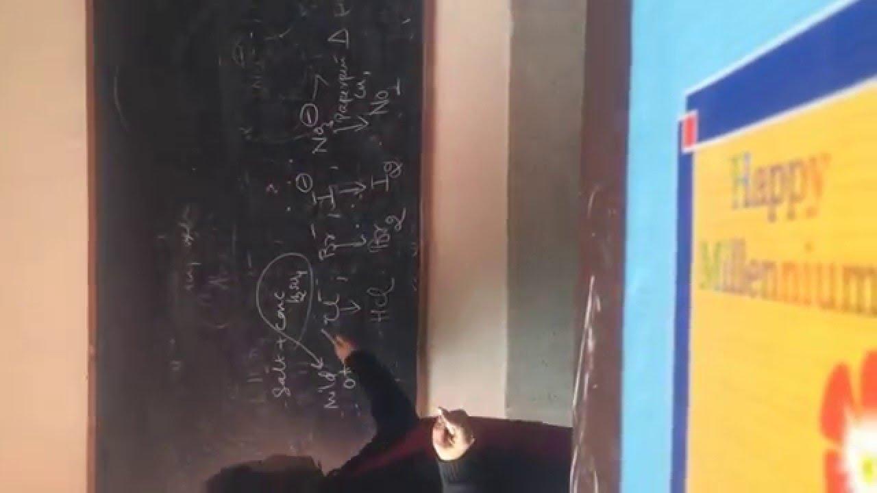 CBSE CLASS XII-CHEMISTRY PRACTICAL SALT ANALYSIS BY MS  SEEMA MAKHIJANI