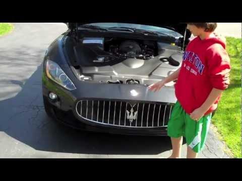 2012 Maserati GranTurismo Convertible - 3TopGear Review by Josh Asarnow - Jay Leno