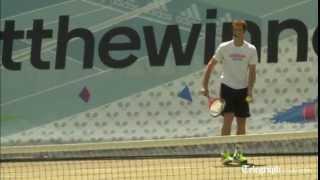 Telegraph reporter 'beats' Murray