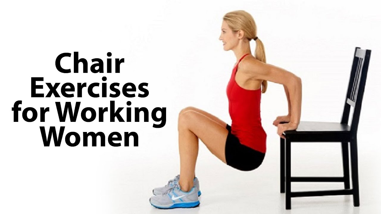 Chair Exercises for Working Women FITVIT