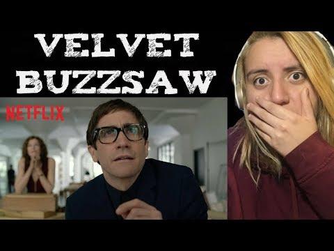 Velvet Buzzsaw (Official Trailer) Reaction   Netflix