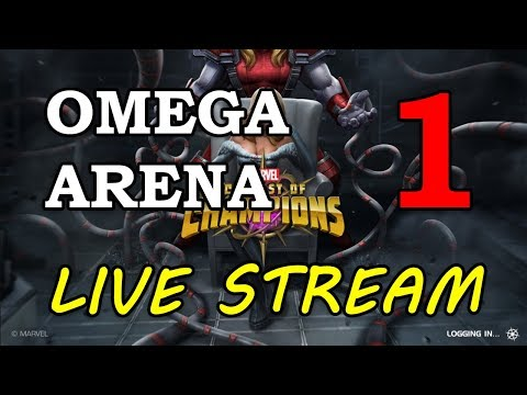 Omega Red Arena - Round 2 - Part 1 | Marvel Contest Of Champions Live Stream