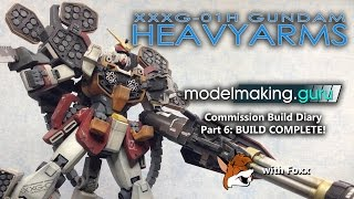 Commission Build Diary: Gundam Heavyarms Master Grade Pt 6
