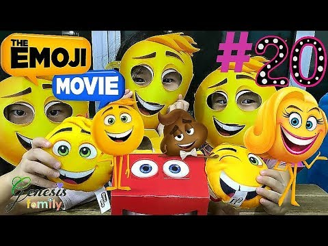 the-emoji-movie-gene-(hm3-1)-mcdonald's-happy-meal-toys-review-funny-kids-video-#20-genesis-family-+
