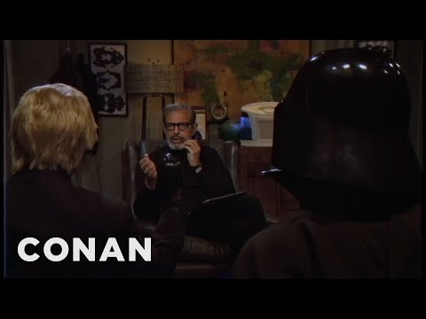Jeff Goldblum Is Leonard Meshbesher: Psychotherapist To The Superheroes  - CONAN on TBS