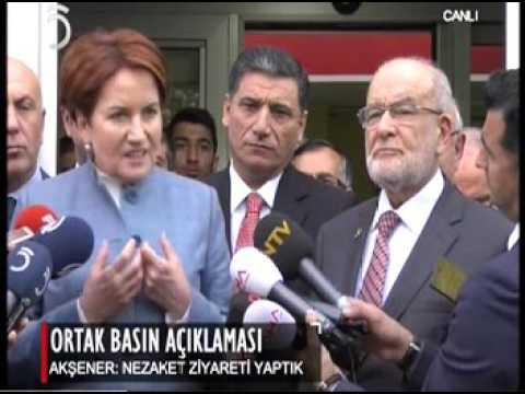 Meral Akşener T Karamollaoğlu ile Ne Konuştu.