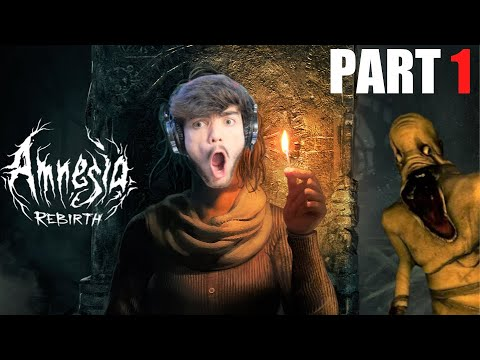 The BEST Horror Game of 2020 | Amnesia: Rebirth Gameplay - Part 1
