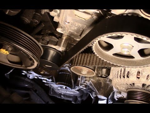 How to replace a timing belt 2008 Hyundai Santa Fe - YouTube