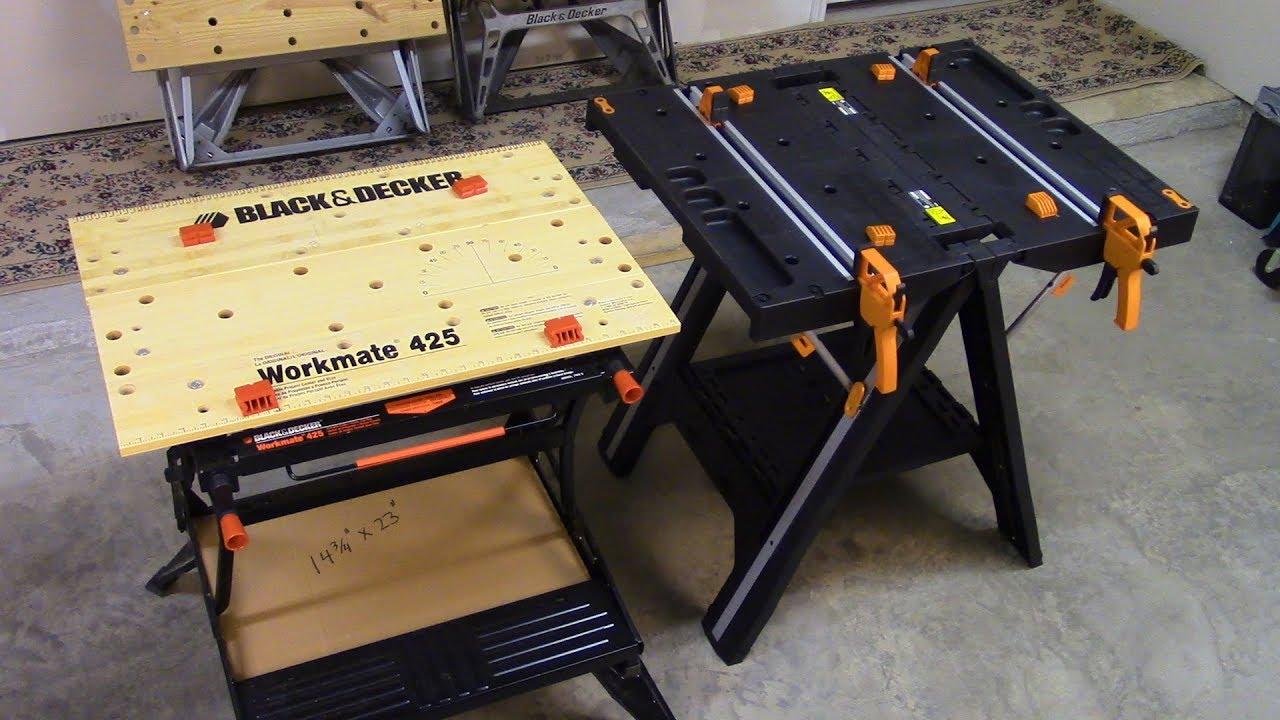Workmate 425 Vs Worx Pegasus Workbenches