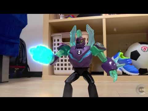 Ben 10 Stop motion - Vilgax fight