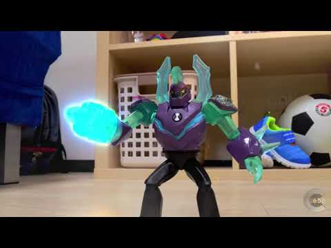 Ben 10 Stop motion - Vilgax fight thumbnail