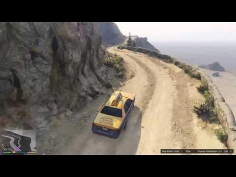 GTA 5 Gameplay - Crazy Taxi