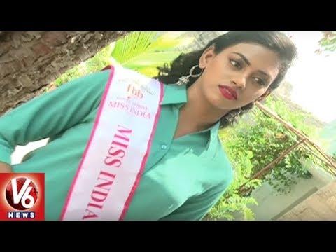 Femina Miss Telangana Kamakshi Participates In World Heritage Day Celebrations In Golkonda | V6