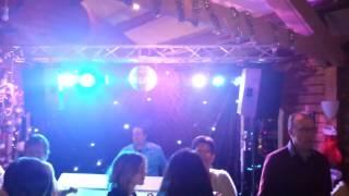 DjHuren.nl drive-in-show met sterrendoek en spiegelbol | Dj Marcel
