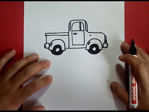 Como dibujar un coche paso a paso 2  How to draw a car 2  YouTube
