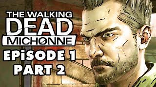 The Walking Dead: Michonne - Episode 1: In Too Deep - Gameplay Walkthrough Part 2 (PC)