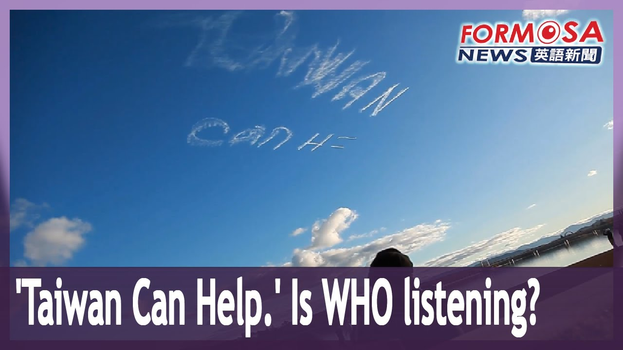 Campaign for Taiwan to join WHO takes to the sky in Australia