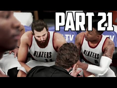 NBA 2K16 My Career - Part 21 - WHERE IS THE FOUL!?