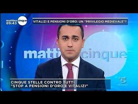 Luigi Di Maio a Mattino 5 16/3/2017 (INTEGRALE)