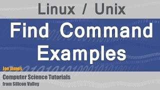 Linux: File Search using Find Command