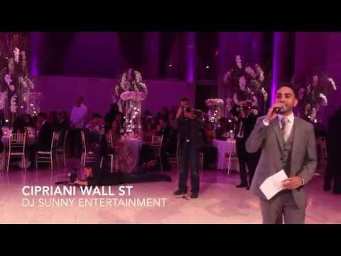 DJ Sunny Entertainment - Cipriani Wall Street NYC Indian Wedding Reception with Raj Minocha