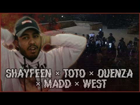 SHAYFEEN , OUENZA, TOTO, MADD & WEST - TCHA RA (unexpected music video) (Reaction)